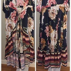 80b0bbd2c57b Anthropologie Dresses - Anthropologie Farm Rio Layla Wrap Dress new